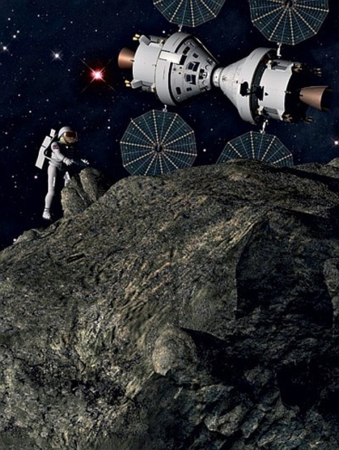 platina no espaço