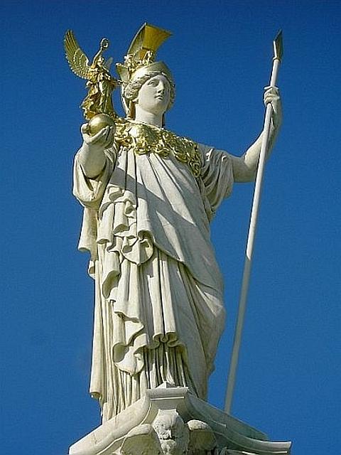Deusa grega Pallas