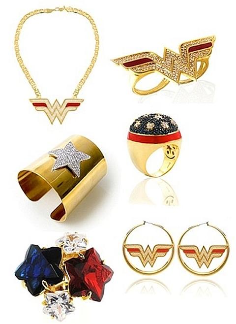 Jóias inspiradas em super-heróis