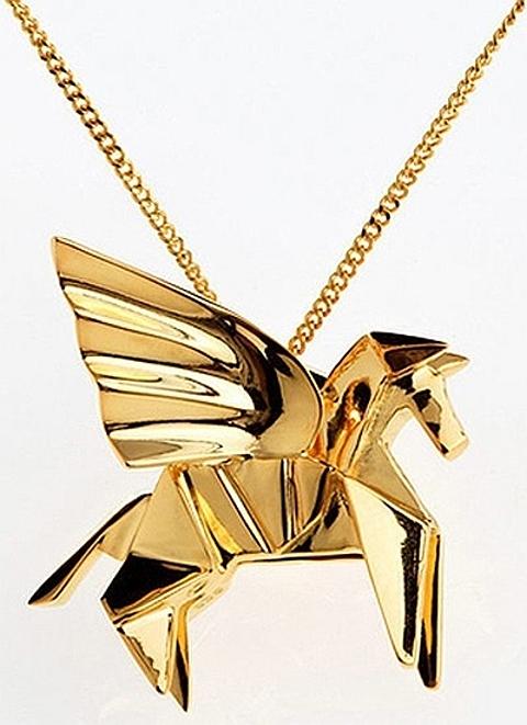 [Origami em ouro]