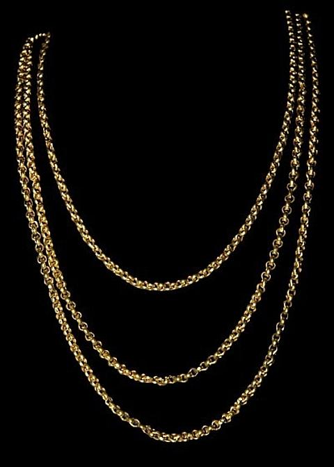 cordão em ouro