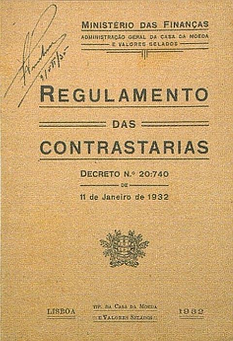Regulamento das Contrastarias