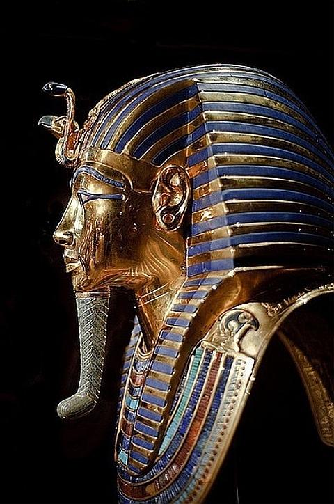 [Máscara de Tutankhamon]