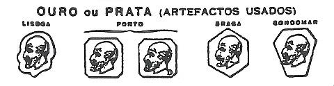 marcas legais extintas artefactos ouro e prata
