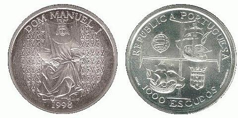 moedas comemorativas portuguesas em prata