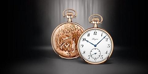 Relógio Longines Equestrian de 1911, hoje encontra-se no museu suiço.