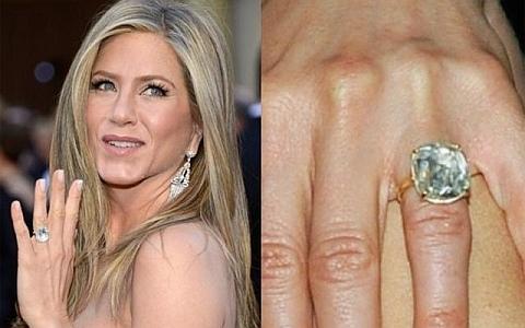 Anel noivado Jennifer Aniston