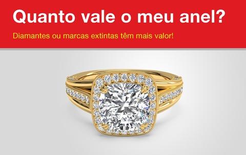 Quanto vale o meu anel?