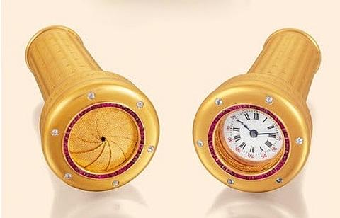 Bengala com relógio
