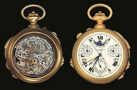 Patek Philippe Henry Graves' Supercomplication