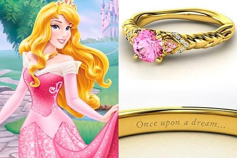 Anéis de noivado da Disney
