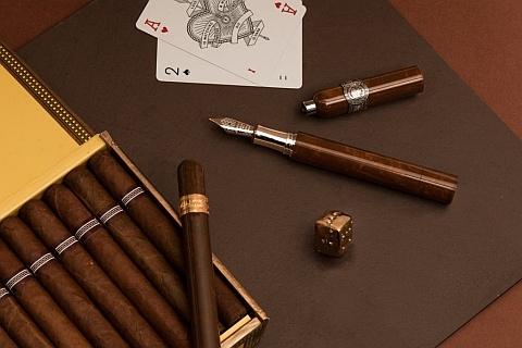 Cigar versus Pen by Montegrappa