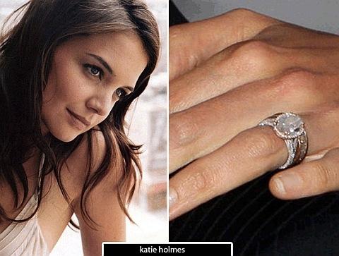 Anel de noivado Katie Holmes