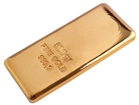 Barra de Ouro 500 gramas