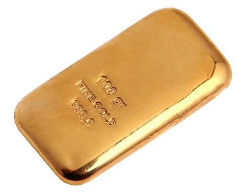 Barra de Ouro 100 gramas