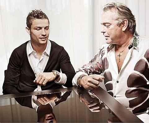 Franck Muller e Cristiano Ronaldo