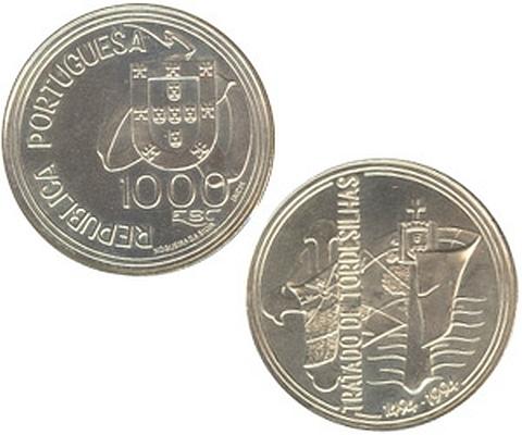 moedas comemorativas em prata portuguesas