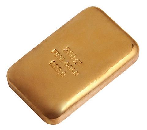 Barra de Ouro 250 gramas