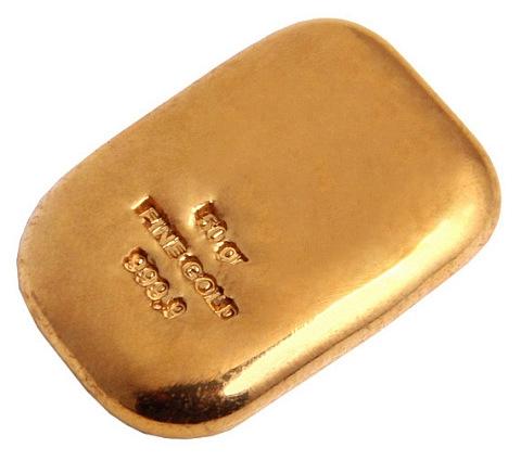 Barra de Ouro 50 gramas