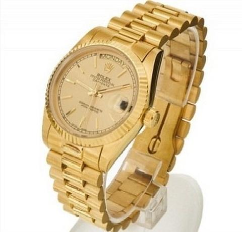 Rolex em ouro