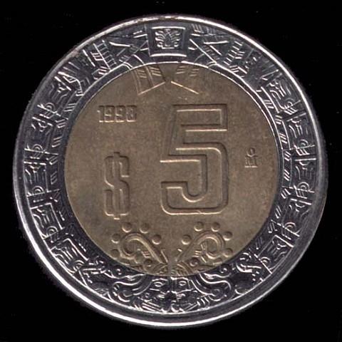 O Peso Mexicano é A Moeda Core Oficial Do México Desde 1993 Foi Primeira Mundo Utilizar Símbolo Antes Mesmo De Dólar Dos