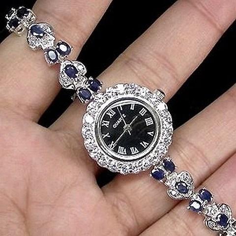 Relógio com Safiras
