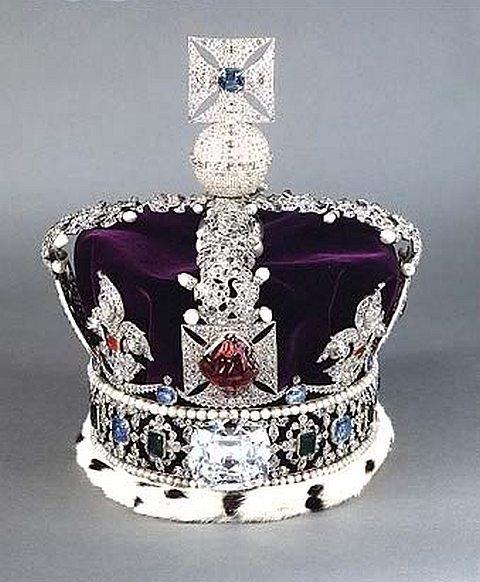 Coroa imperial do estado inglês