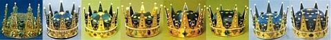 Coroas dos Principes da Suécia