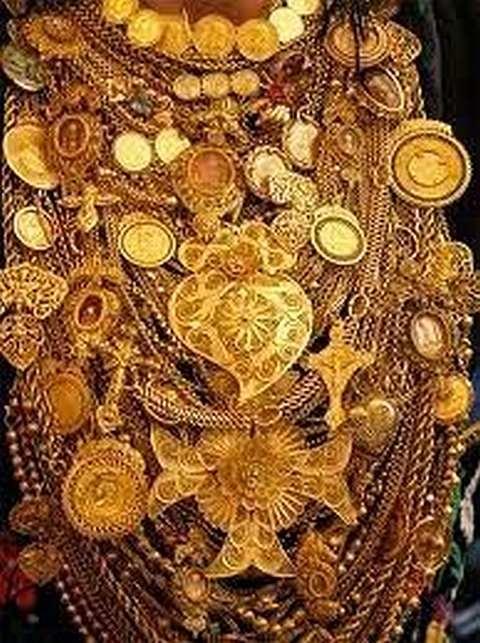 Pendentes ouro popular