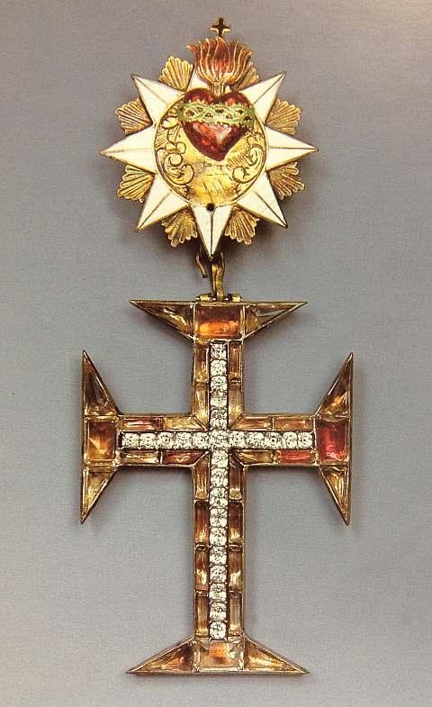 Insígnia da Ordem de Nosso Senhor Jesus Cristo
