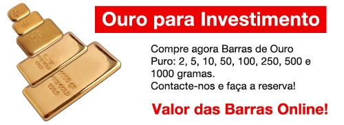 Ouro para Investimento
