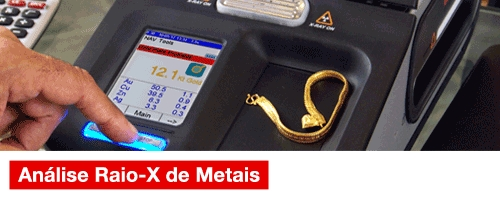 Análise Raio-X de Metais