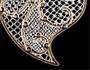 Renda de bilros em jóias