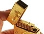 Fantásticos isqueiros em ouro